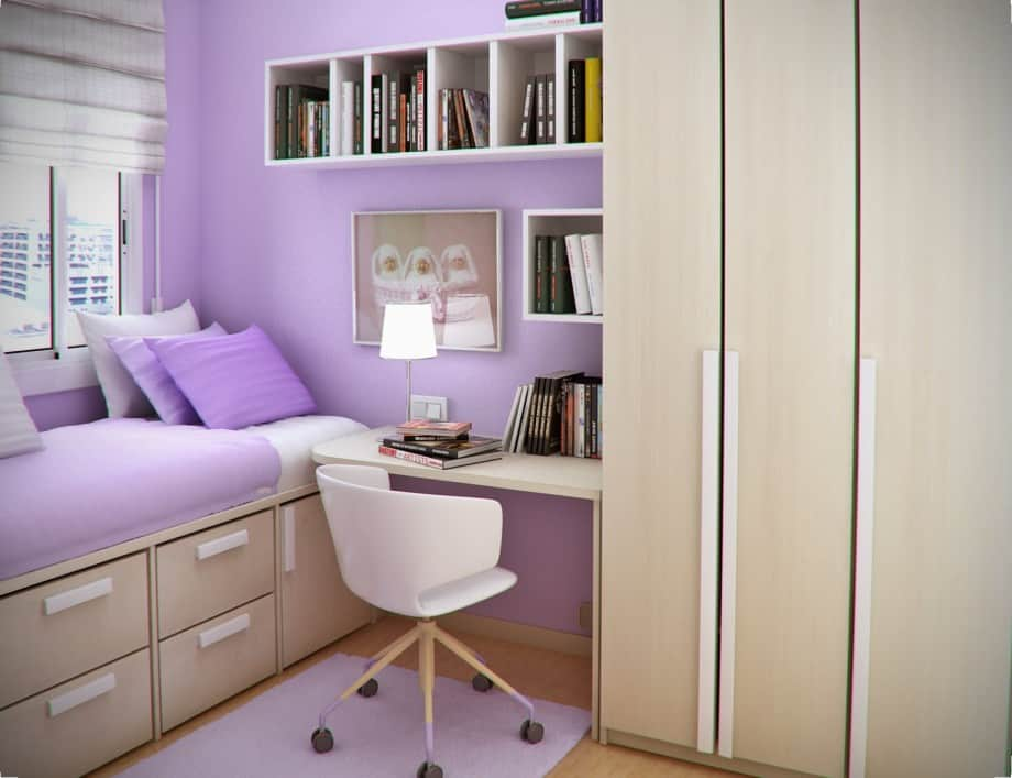 10 Tips on Small Bedroom Interior Design | Homesthetics ... on Bedroom Ideas Small Room  id=66926