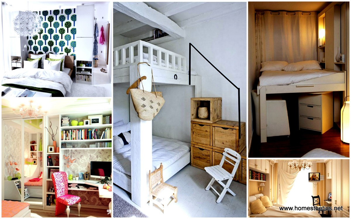 30 small bedroom interior designs created to enlargen your space homesthetics inspiring - Houses for small spaces decor ...