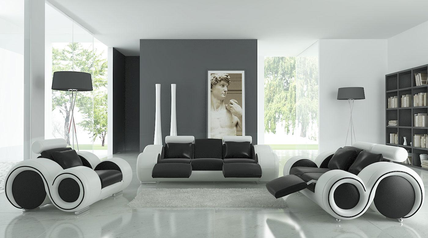 Etonnant 17 Inspiring Wonderful Black And White Contemporary Interior Designs