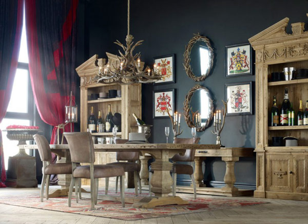 20 Inventive and Inspiring Eclectic-Vintage Retro Interiors by Timothy Oulton homesthetics.jpg (21)