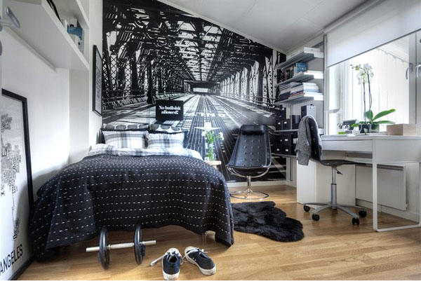 30 Small Bedroom Interior Designs Created to Enlargen Your Space (15)