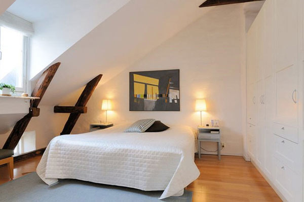30 Small Bedroom Interior Designs Created to Enlargen Your Space (16)