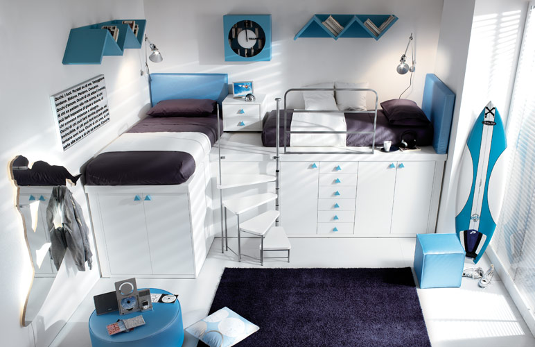 30 Small Bedroom Interior Designs Created to Enlargen Your Space (18)