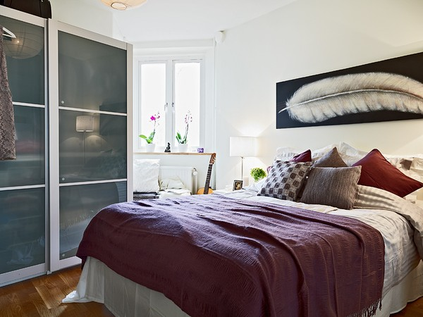 30 Small Bedroom Designs Created to Enlargen Your Space (3)