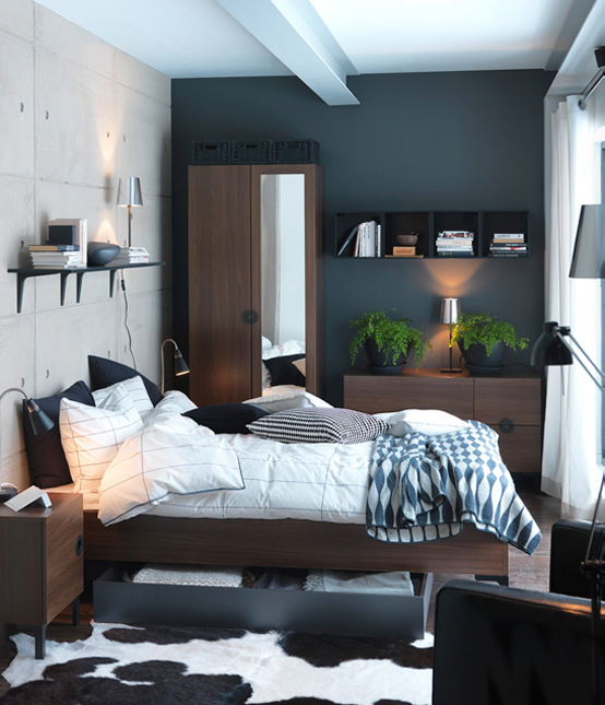 Home Design Ideas For Small Spaces: 30 Small Bedroom Interior Designs Created To Enlargen Your