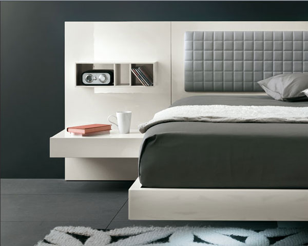 A Modern Interior Design Idea Aladino Up by Alf Group Homesthetics contemporary bedroom design