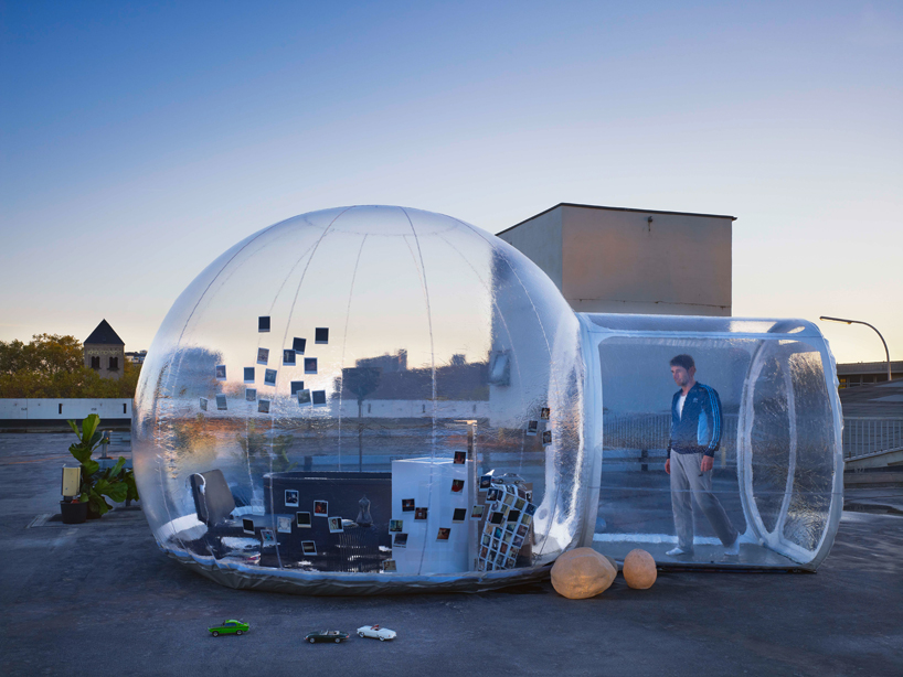 Amazing Concept at ISH 2013 the Inflatable Bathroom Bubble