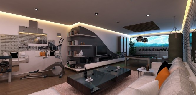 Modern Bachelor Pad Ideas