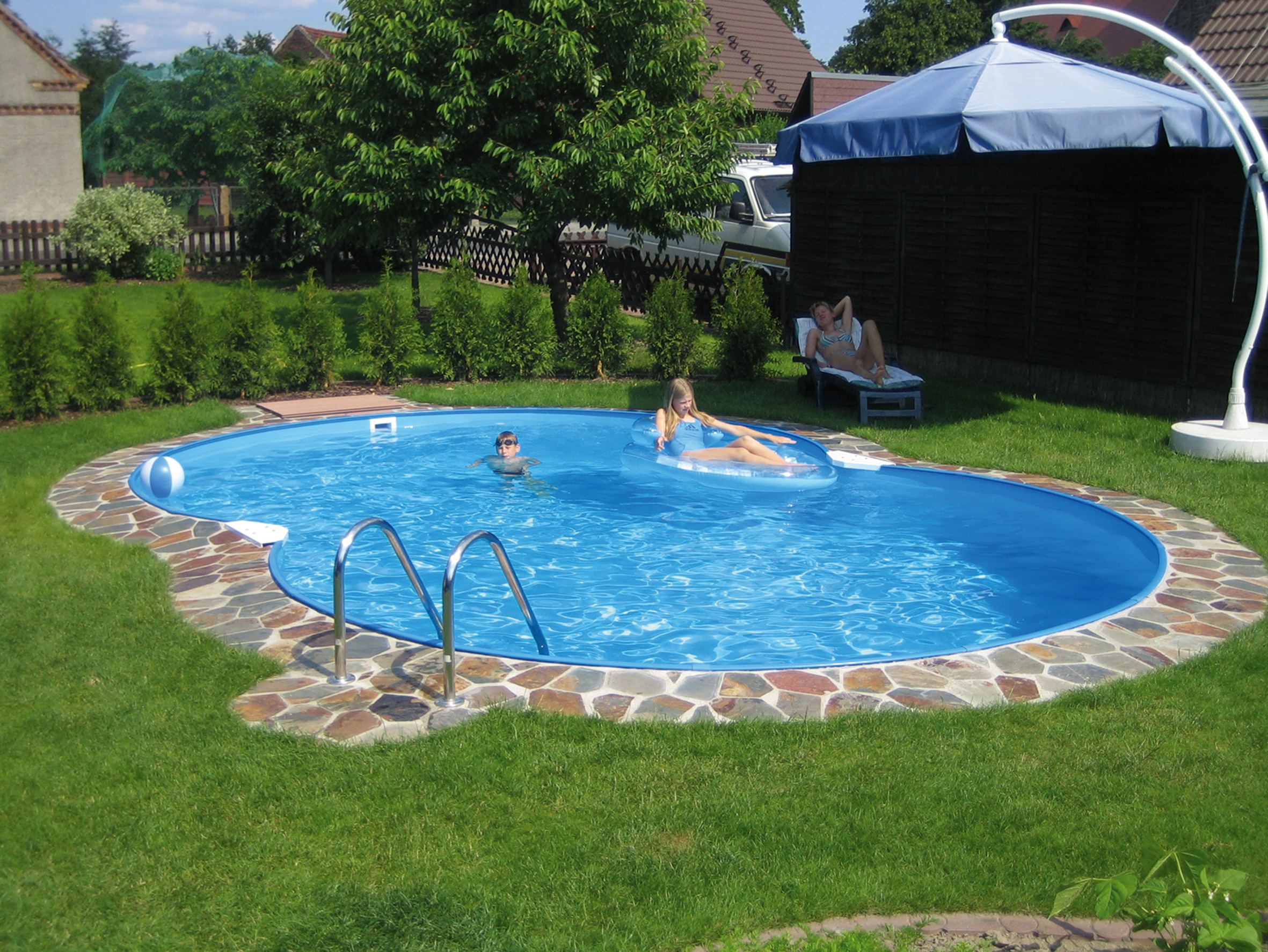High Quality Backyard Landscaping Ideas Swimming Pool Design