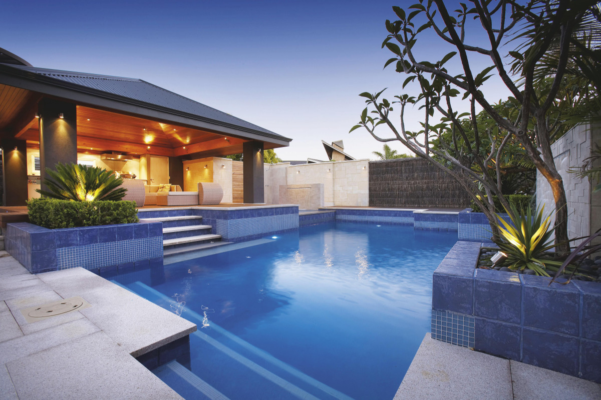 Backyard landscaping ideas swimming pool design for How to design a pool