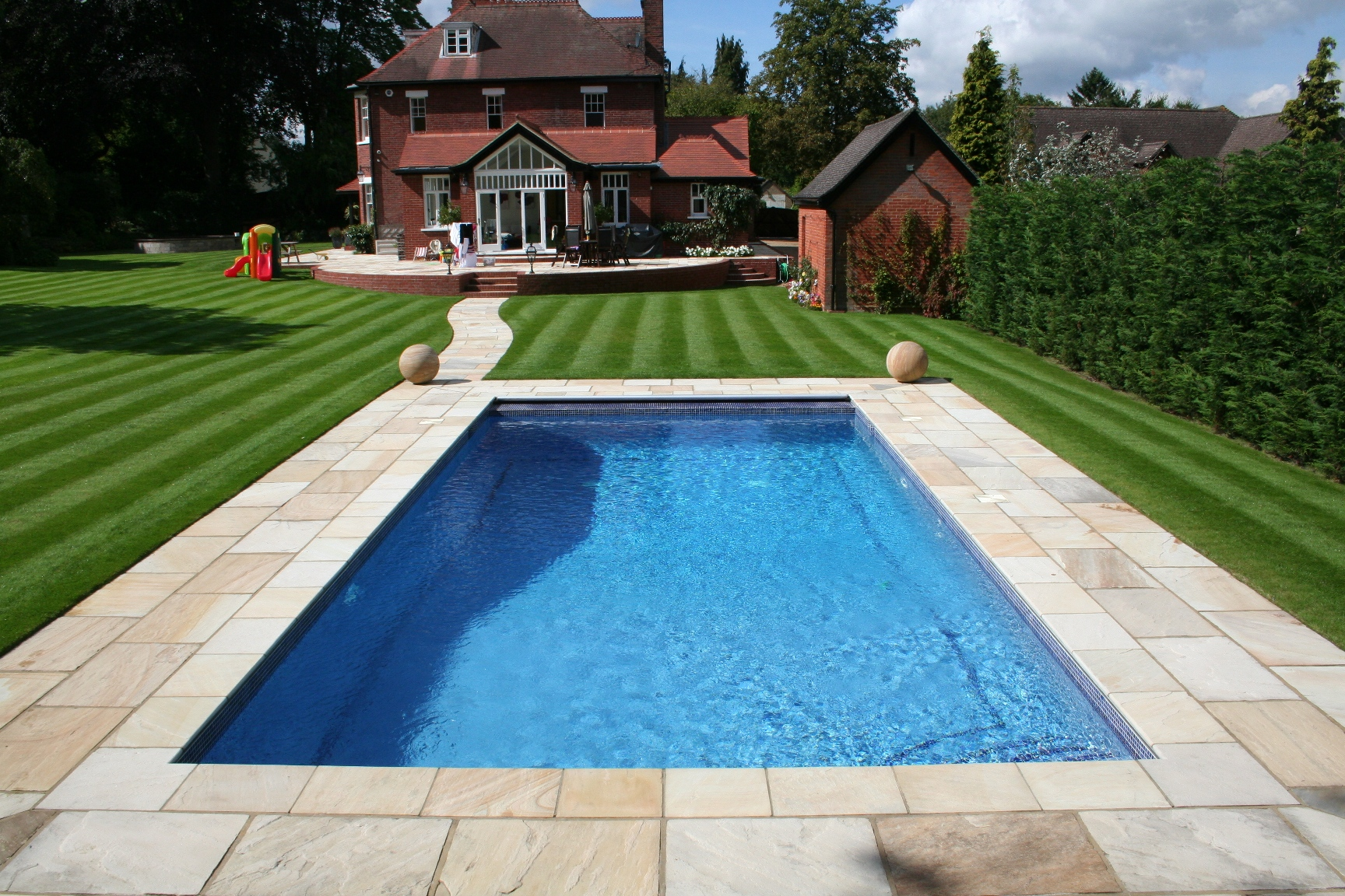 Ordinaire Backyard Landscaping Ideas Swimming Pool Design