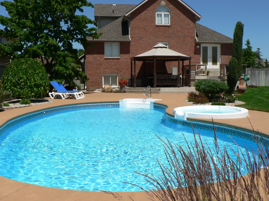 backyard landscaping ideas swimming pool design - Outdoor Backyard Pools