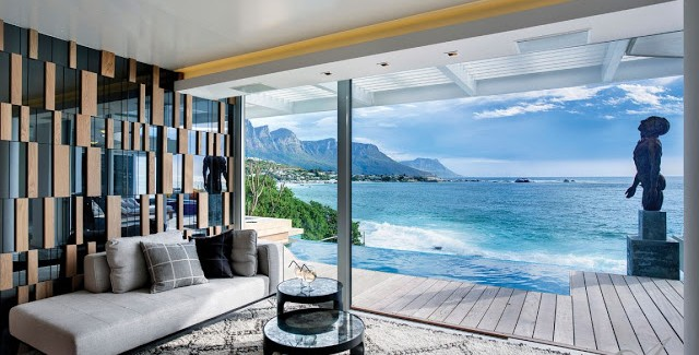 Clifton View Mansion By Antoni Associates Overlooking Cape Town – South Africa: Contemporary Display of Luxurious Interior Design