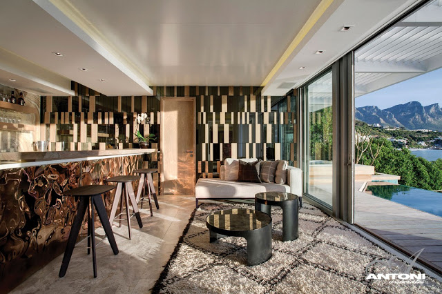 Clifton View Mansion By Antoni Associates Overlooking Cape Town – South Africa: Contemporary Display of Luxurious Interior Design  contemporary interior design