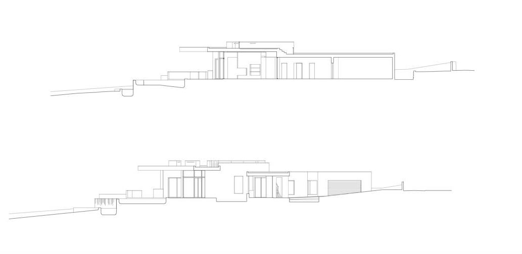 facades of the Colunata House by Mario Martins in Lagos, Algarve, Portugal, Great Example of a Modern Mansion (4)