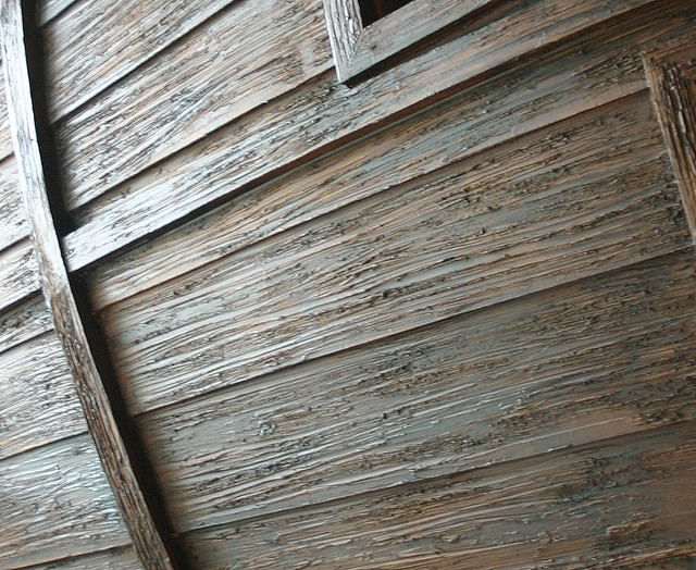 detail shot of the texture in Creative Environment- The BoatroomBedroom by Steve Kuhl custom made boatroom for modern mansion (4)