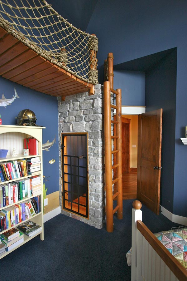 the small jail in Creative Environment- The BoatroomBedroom by Steve Kuhl custom made boatroom for modern mansion (10)