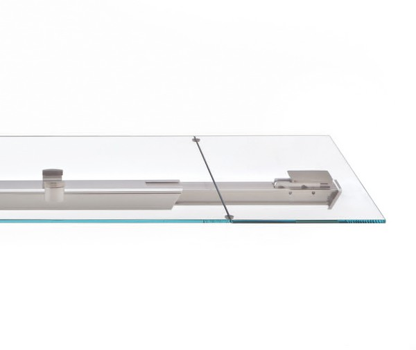 detail shot of the Extendible Glass Table by Tonin CASA Homesthetics SHANGHAI  (1)