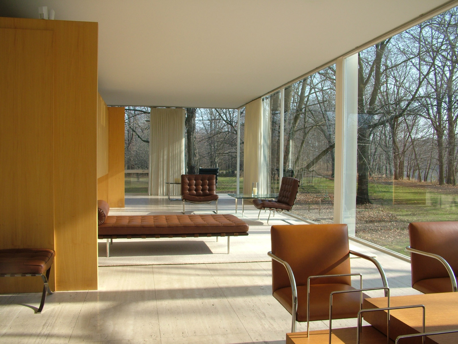 Furniture Design by Mies van der Rohe