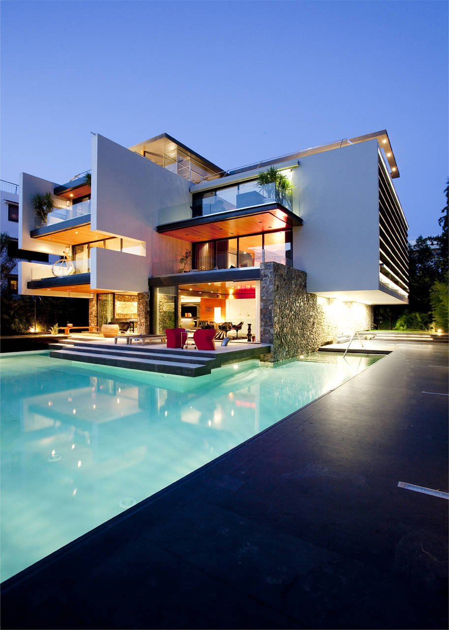 H.2 Residence by 314 Architecture Studio in Athens modern villa design