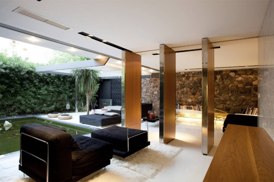 H.2 Residence by 314 Architecture Studio in Athens modern living space
