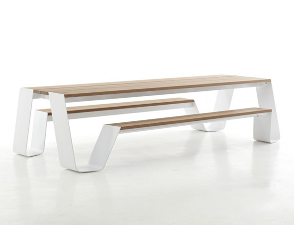 Innovative Contemporary Outdoor Design The Hopper Table and Seat by Extremis homesthetics (2)
