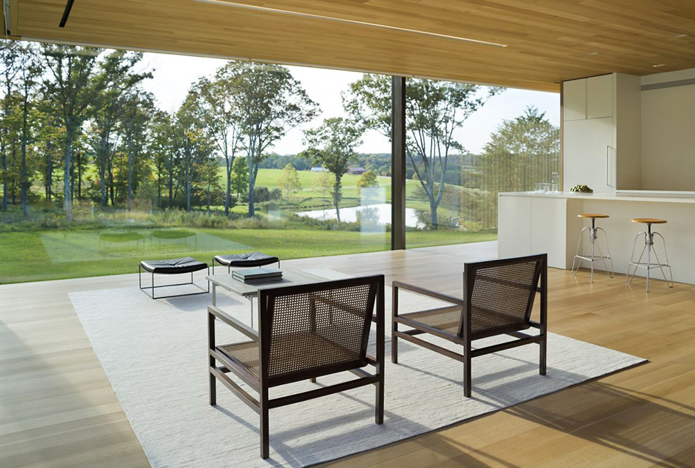 amazing view towards the envinronment LM Guest House by Desai Chia Architecture in New York-Contemporary Farnsworth Copy (21)