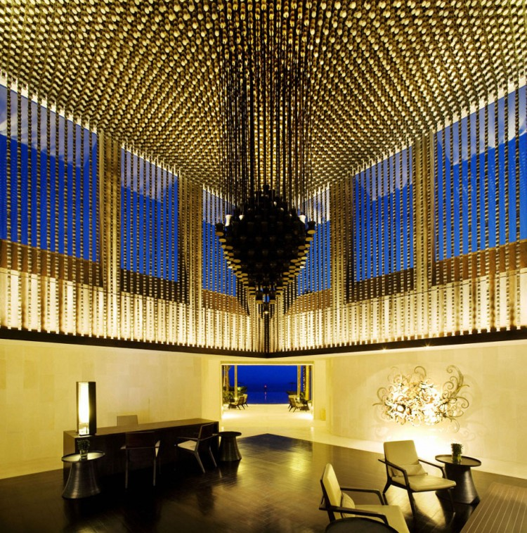Luxurious Interior Design Hosted in Heaven- Alila Villas Uluwatu by WOHA Architects incredible interior design luxury lighting system