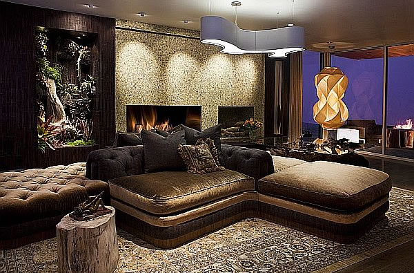 Modern Bachelor Pad Ideas rustic look