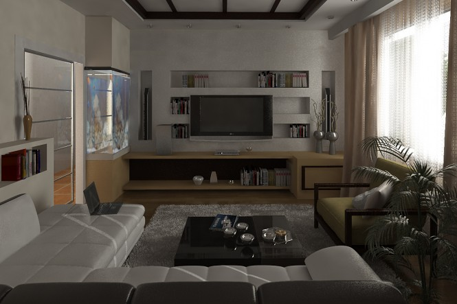Modern Bachelor Pad Ideas cool tv