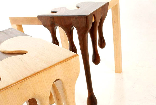 detail shot Modern Inspiring Fusion Tables by Matthew Robison homesthetics tables for modern mansions (5)