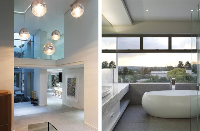 Paradise Found Hyde Park- Luxurious Contemporary Mansion by Summersun Property Group minimalsit bathroom modern elements