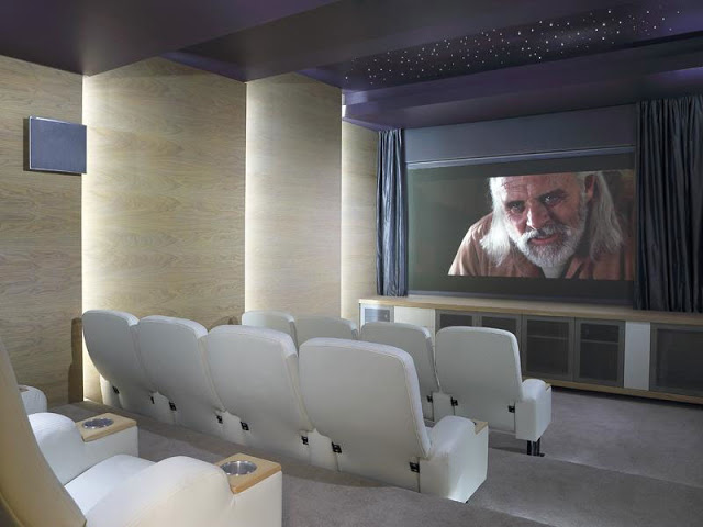 Paradise Found Hyde Park- Luxurious Contemporary Mansion by Summersun Property Group cinema room