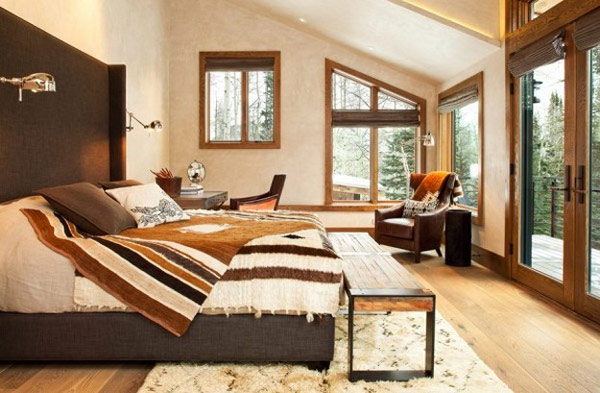 cozy and warmth expressed in this vMoody-Cabin-mouintain retreat in luxurious chalet modern mansion alternativejpg (14)