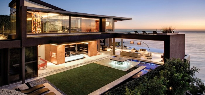 Nettleton 198 in Cape Town by SAOTA: Contemporary Modern Mansion beautiful design