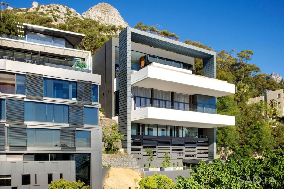 Nettleton 198 in Cape Town by SAOTA: Contemporary Modern Mansion exotic location exotic modern mansion