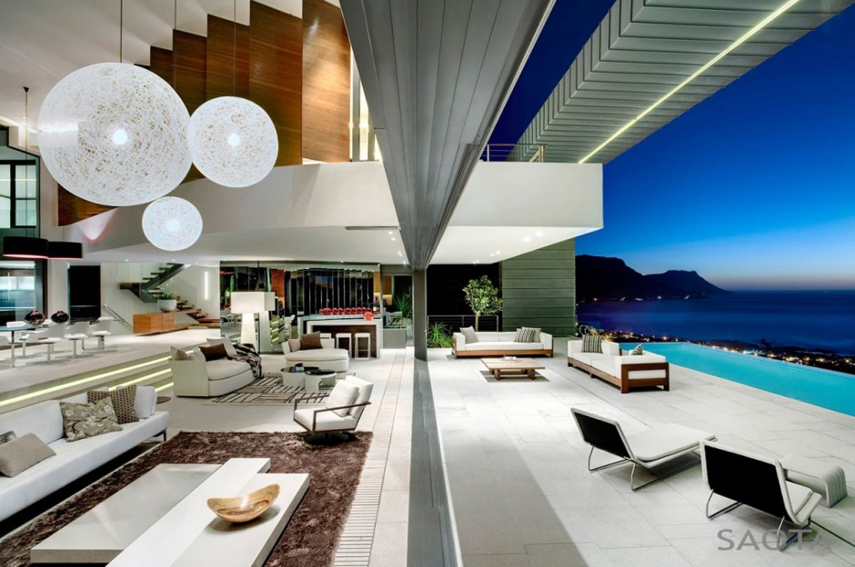Nettleton 198 in Cape Town by SAOTA: Contemporary Modern Mansion modern mansion dream home