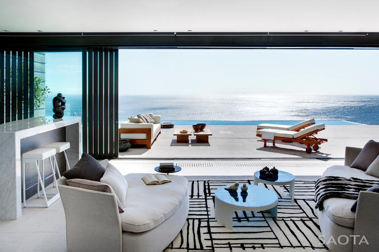 Nettleton 198 in Cape Town by SAOTA: Contemporary Modern Mansion contemporary design dream home view