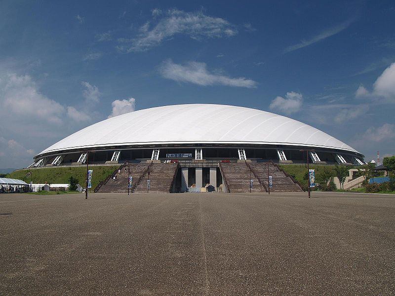 Oita Stadium, Japan-The Big Eye Homesthetics front view