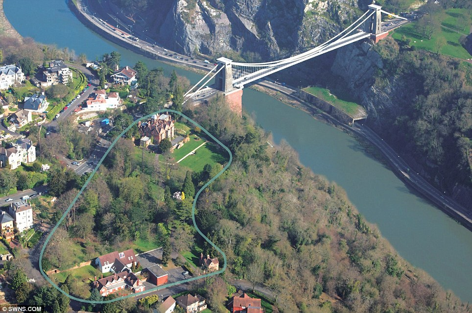 Spectacular Historic Mansion Overlooking Clifton Suspension Bridge expression of wealth and decadence of the rich