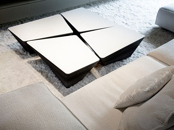Stone Coffee Table by Odesi & Kees Marcelis-Modern Display of Skill  homesthetics (5)