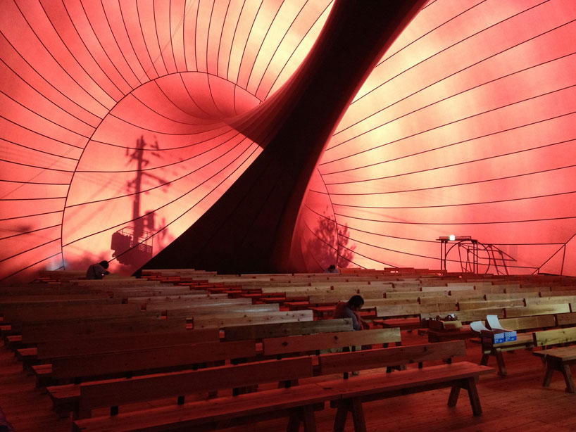 Sustainable Design Solving Japan`s Flood Hit Areas Problems | Ark Nova Inflatable Concert Hall