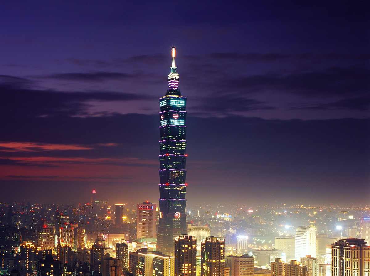 taipei 101 tower in taiwan by c y lee partners