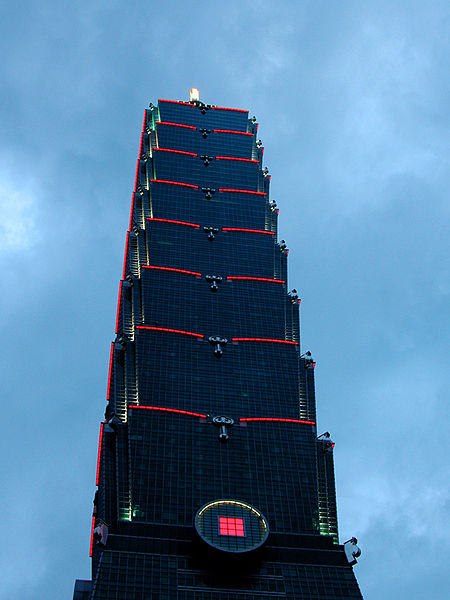 Taipei 101 Tower in Taiwan by C.Y. Lee & Partners Homesthetics traditional approach