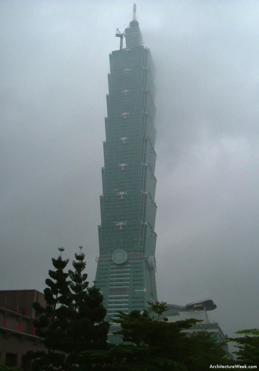 Taipei 101 Tower in Taiwan by C.Y. Lee & Partners Homesthetics