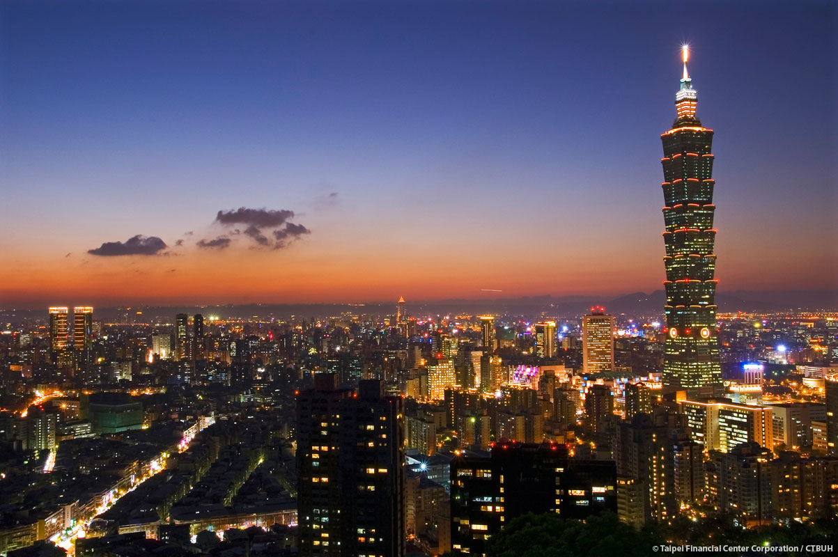 Taipei 101 Tower In Taiwan By C Y Lee Amp Partners