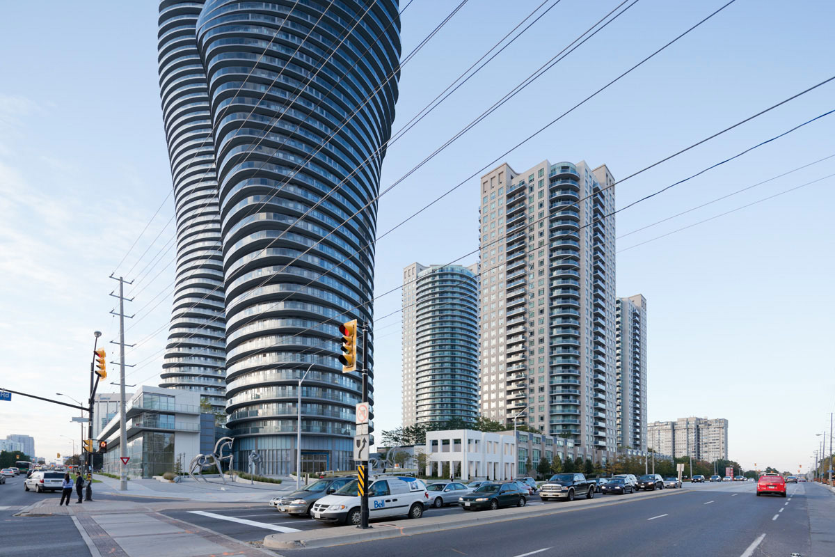 """The Absolute Towers in Canada by MAD Architects  """"Marylin Monroe Towers"""""""