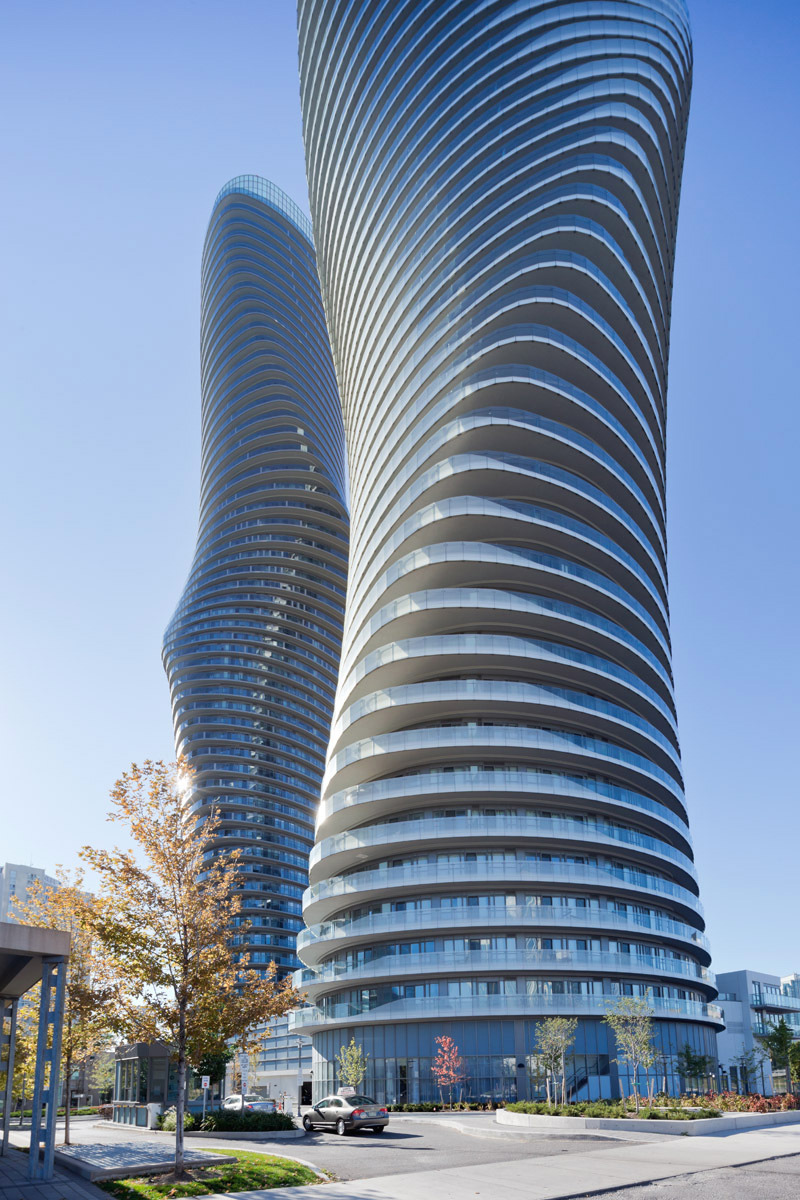 "The Absolute Towers in Canada by MAD Architects  ""Marylin Monroe Towers"""