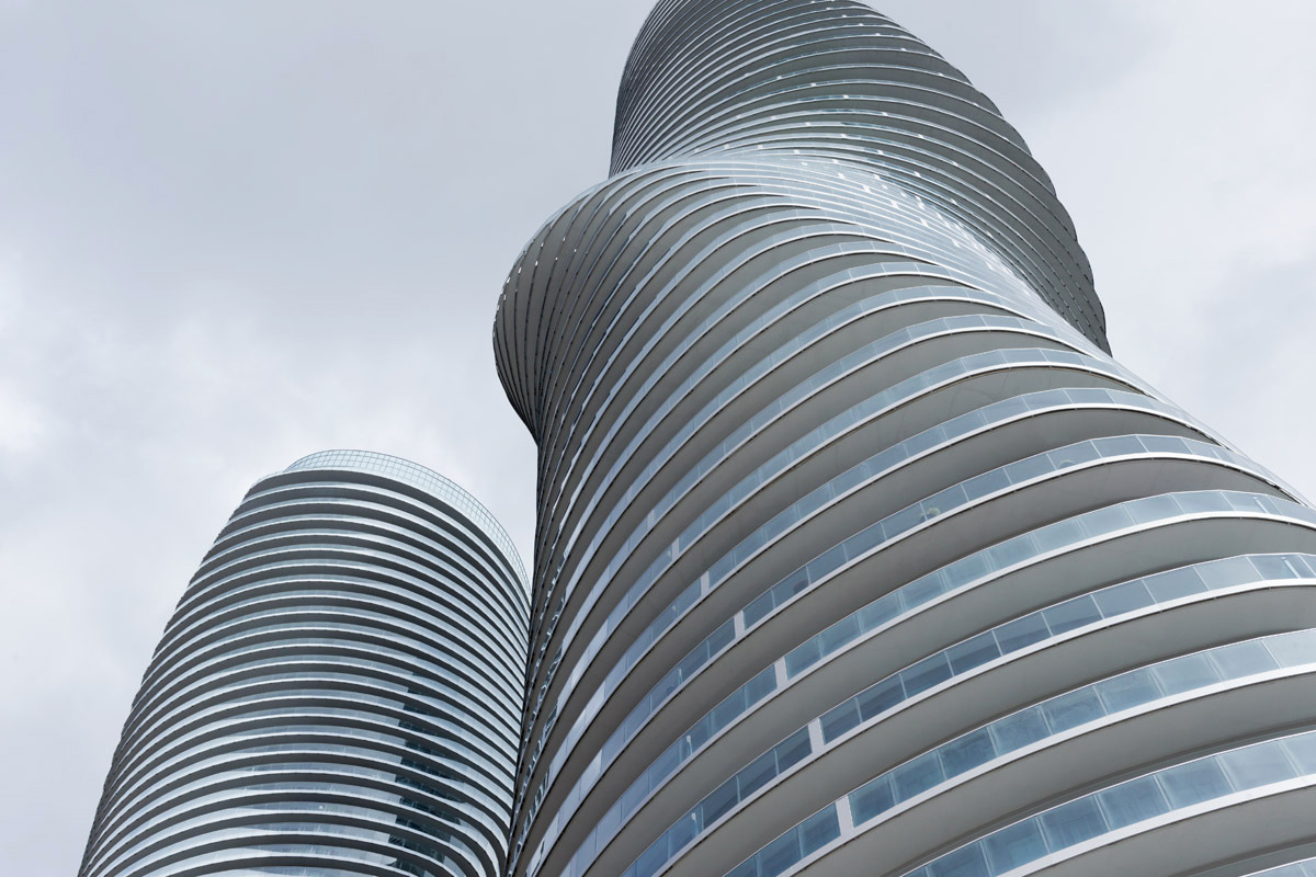 The Absolute Towers In Canada By Mad Architects