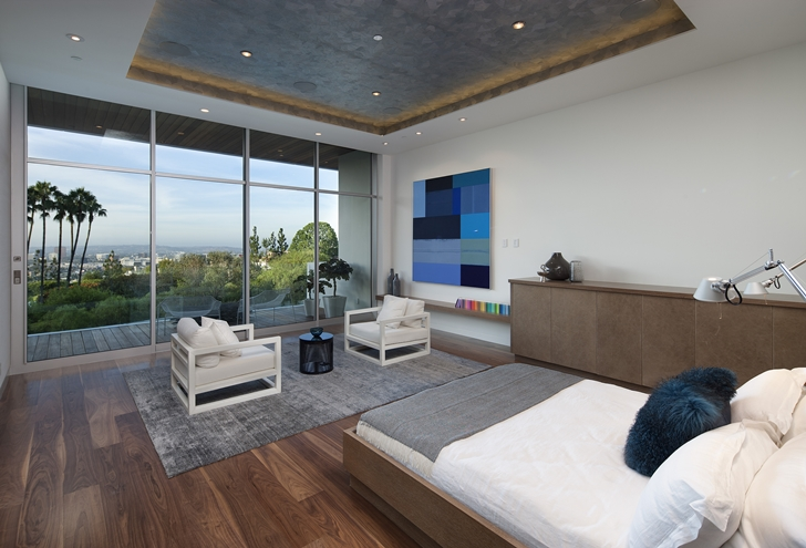 The Expression of a Modern Mansion by Hagy Belzberg Homesthetics modern bedroom